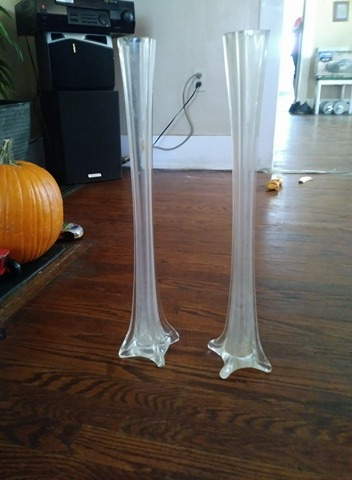 Used     Pair of Candlestick Holders