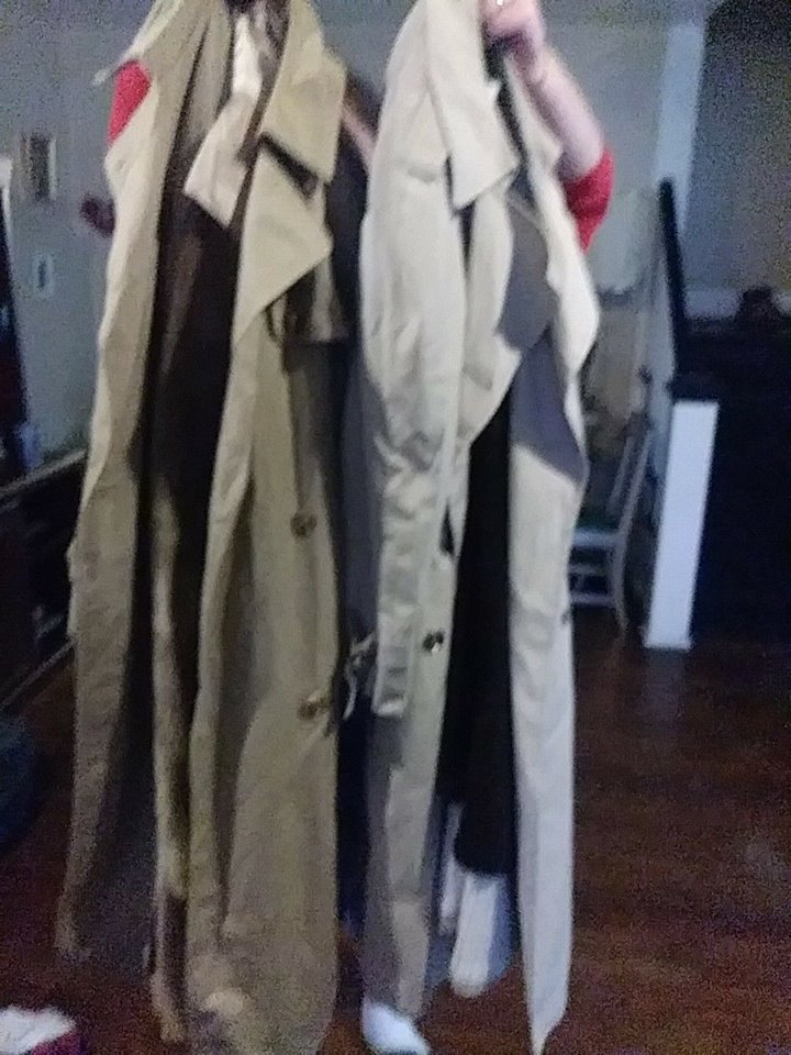 Used     Lot of 2 Overcoats