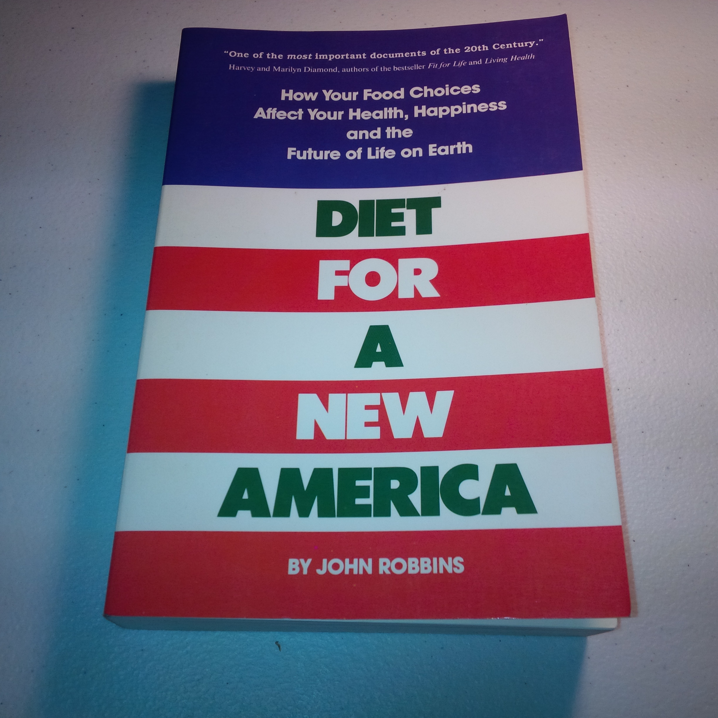Used  1987 John Robbins 0-913299-54-5 Diet for a New Amer...