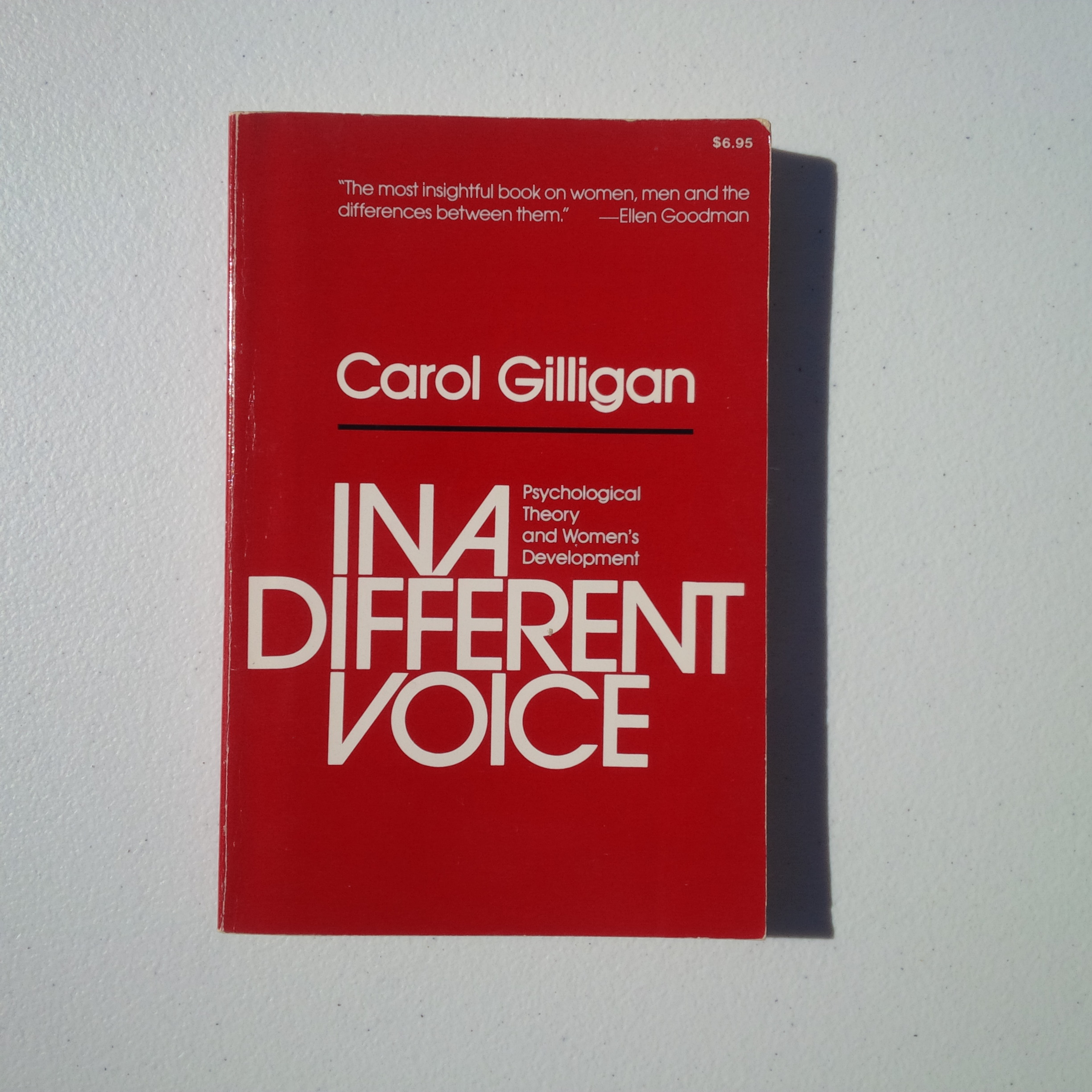 Used  1982 Carol Gilligan 0-674-44544-9 In a Different Vo...