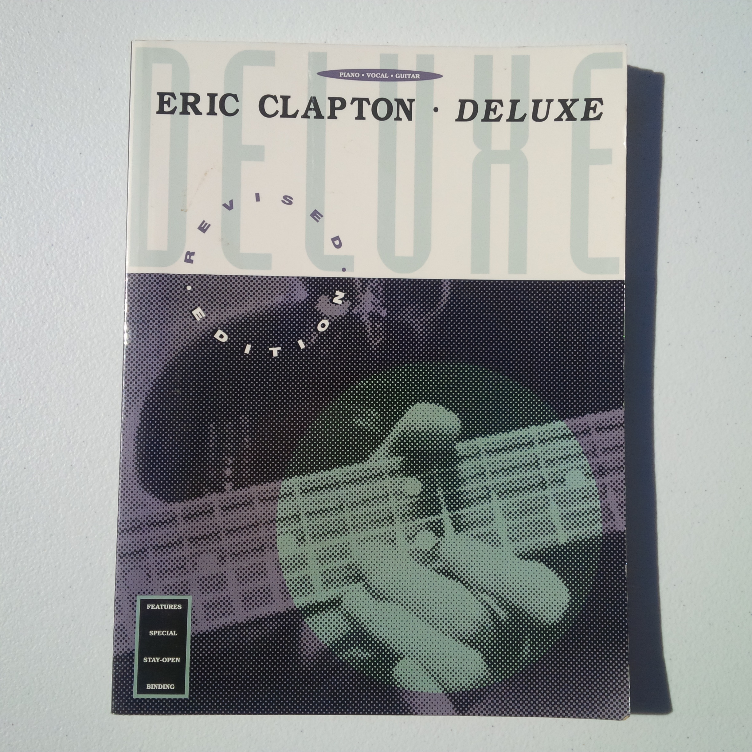Like New  1991 Eric Clapton 0-7935-0271-1 Deluxe Songbook...