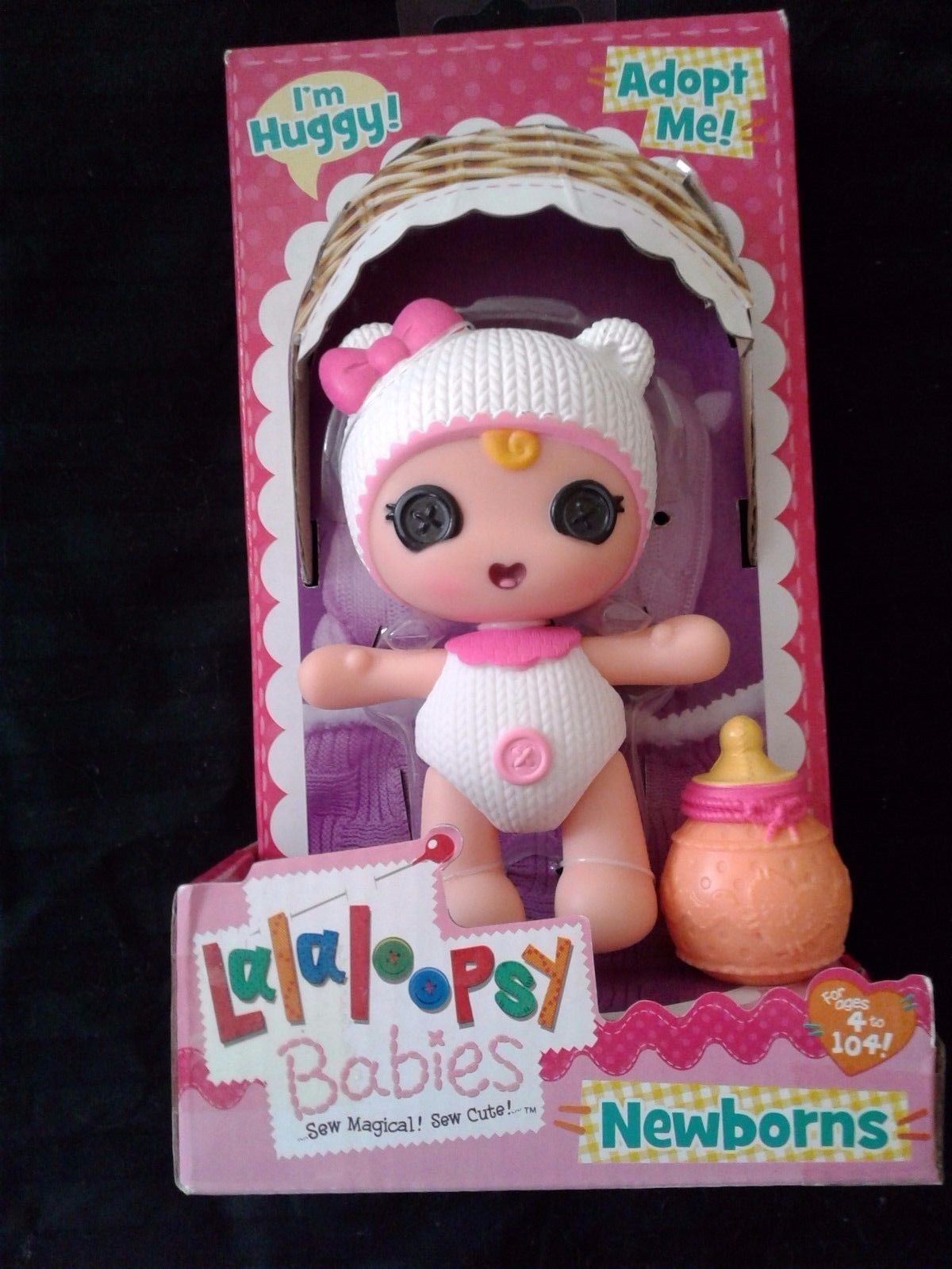 New Womens  Lalaloopsy Newborns Huggy Baby Doll