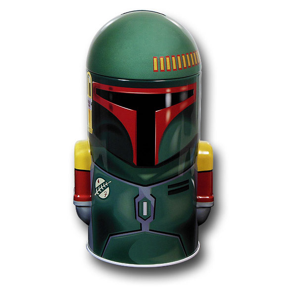 New   Tin Box Co  Tin Box Company Star Wars BOBA FET Coll...