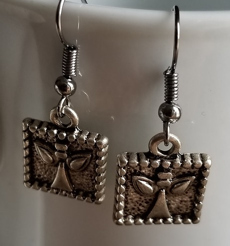 New     Angel Earrings