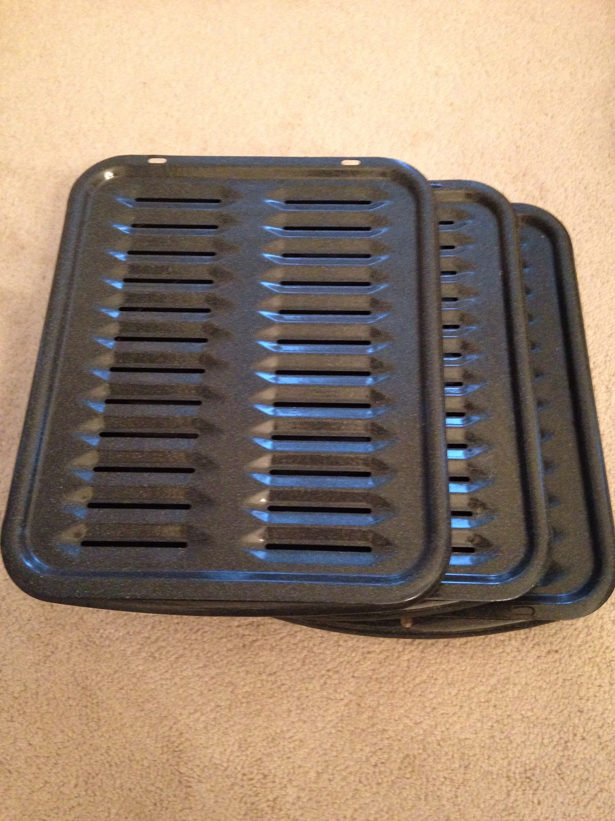 Used     Grill Pan Sheet (3 sets)