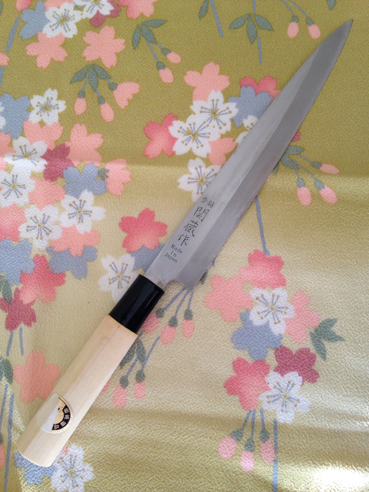 Used   Sekizo  Yanagiba Sashimi Knife 210 mm