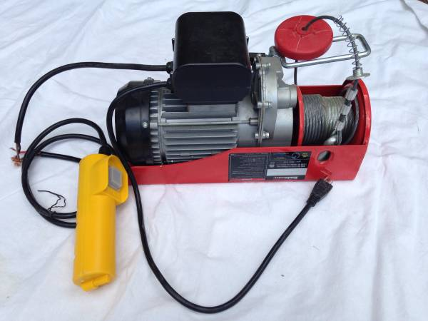 Used   Haulmaster  1320 lb. Electric Hoist with Remote Co...