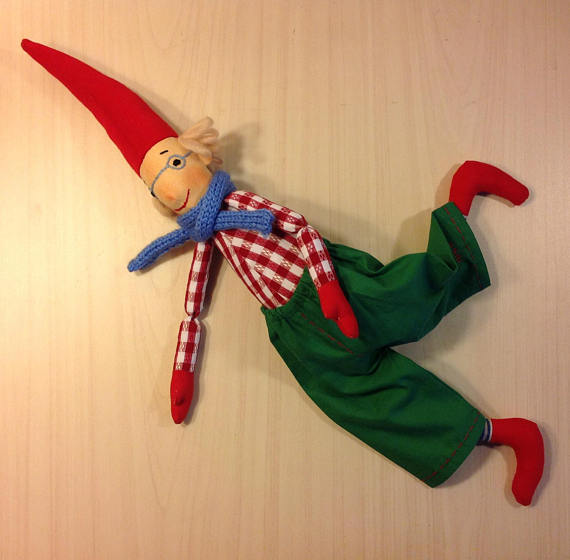 New   NatashaArtDolls Christmas Elf Handmade Cloth Nordic...