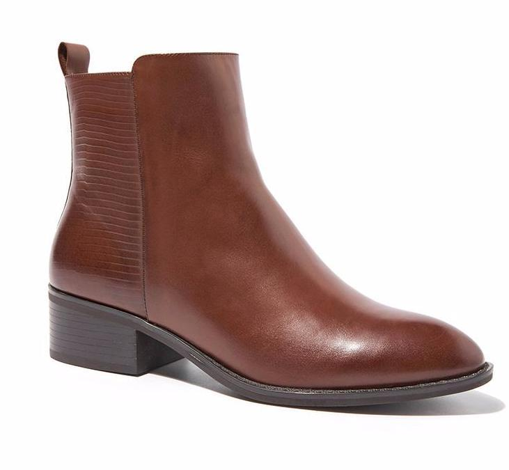 New Womens    Martin Leather Ankle Boots