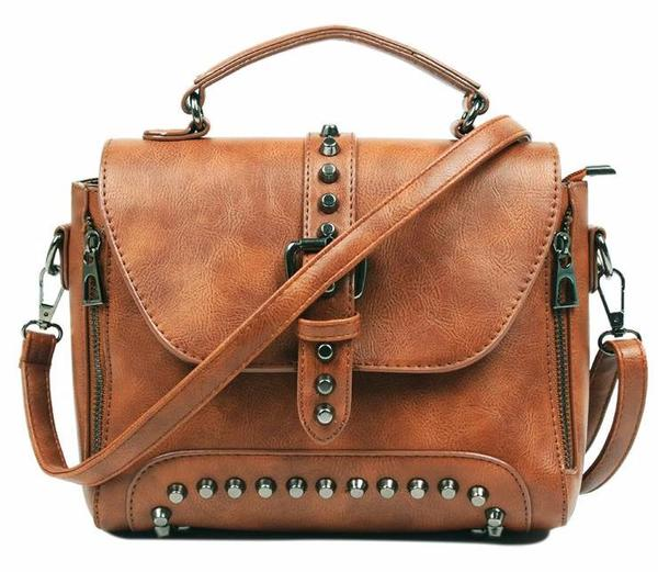 New Womens    Boho Vintage Leather Bag