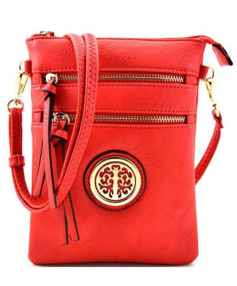New Womens    On the Go Pop Of Color Purse