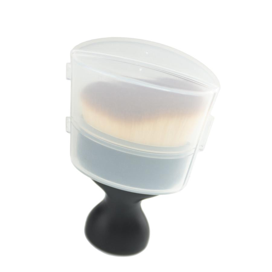 New Womens    Contour Foundation Brush with Lid