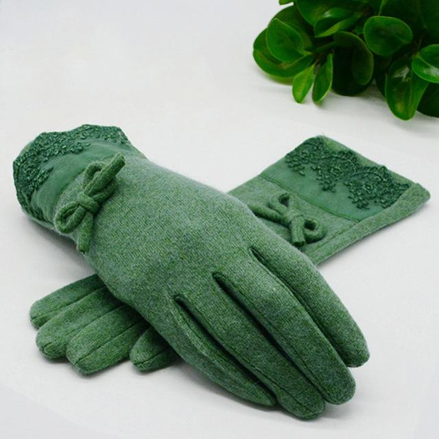 New Womens    Wool Cashmere Gloves