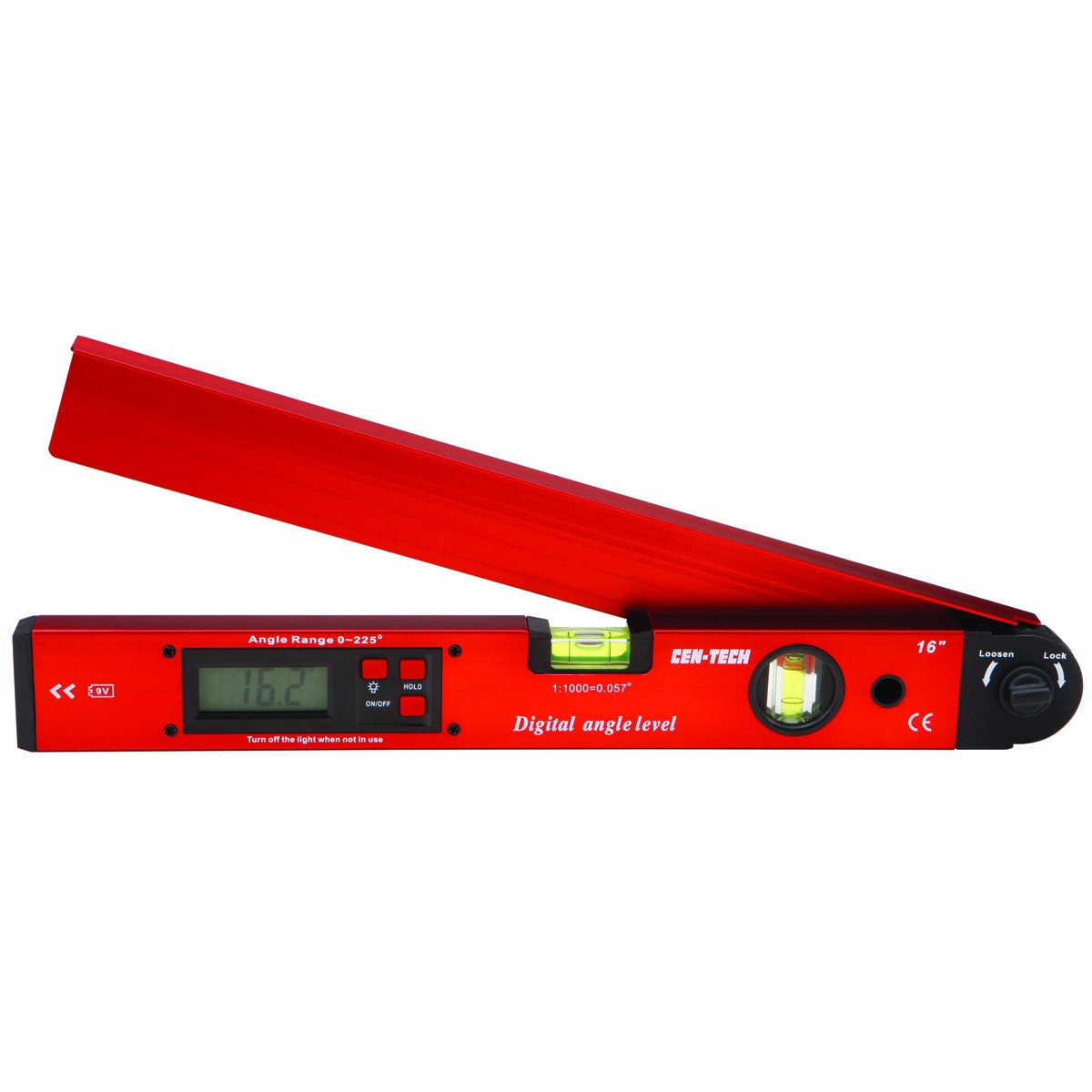 New   Pittsburgh  16 in. Digital Angle Level