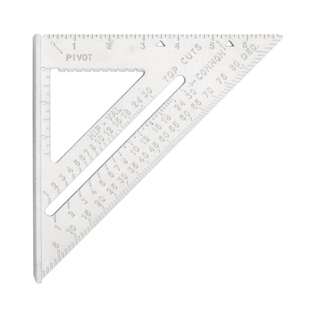 New   Pittsburgh  4-in-1 Aluminum Rafter Angle Square