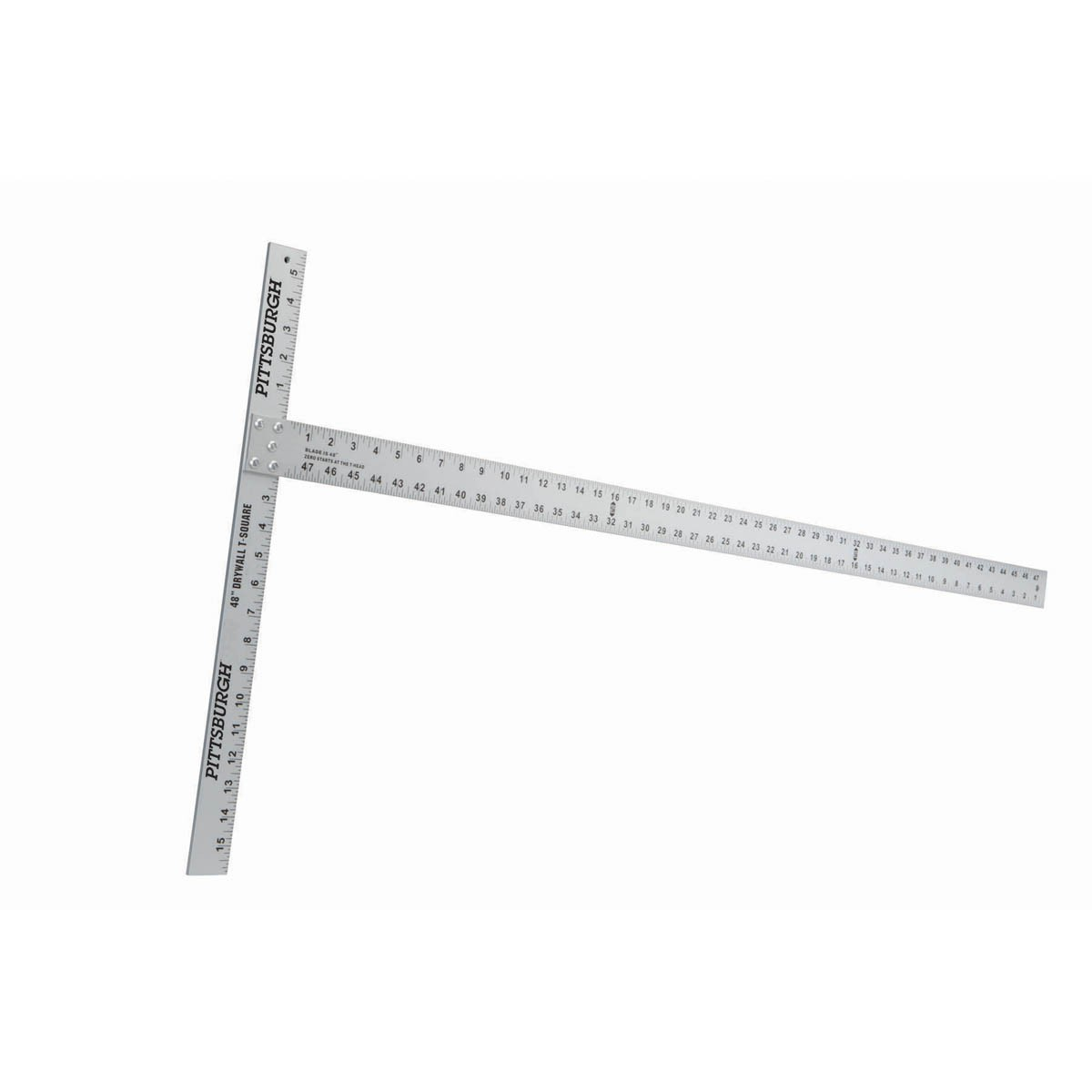 New   Pittsburgh  48 In. Drywall T-Square