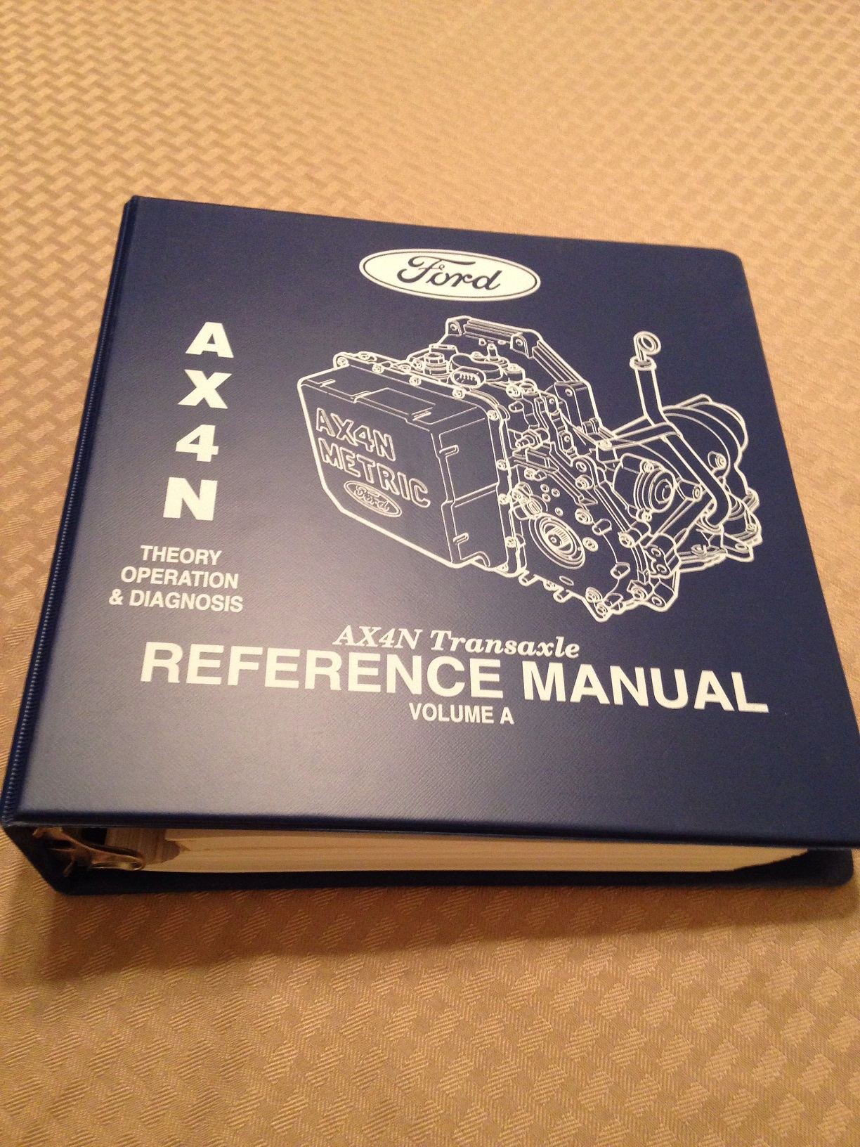 Like New   Ford AX4N Transaxle Reference Manuals Volumes ...