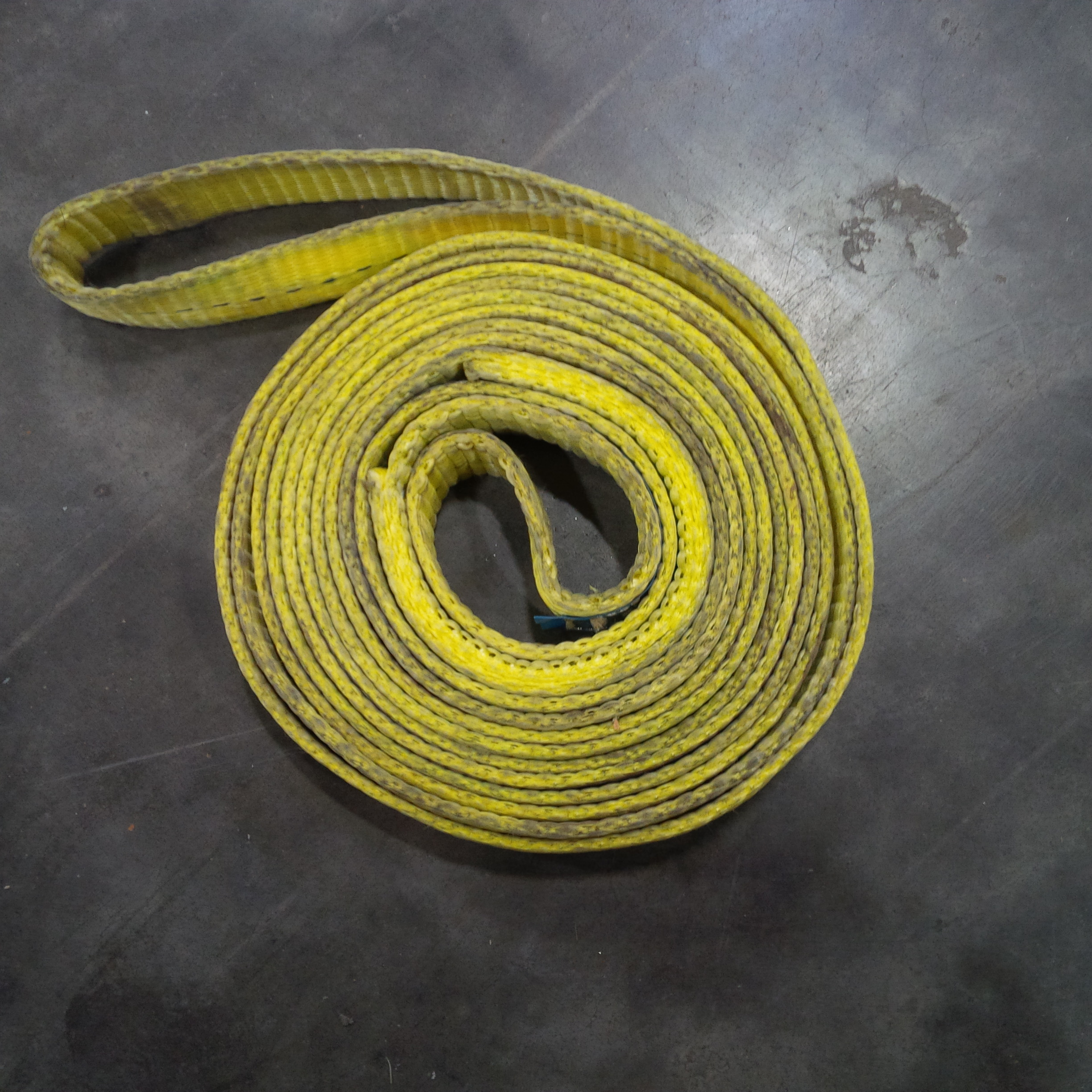Used   Penco EN1901x09 Yellow Endless Polyester Sling 1 i...