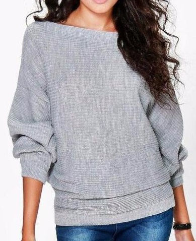 New Womens    Loose Tunic Sweater